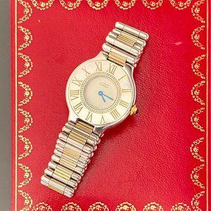 Cartier Watch With Cartier Box